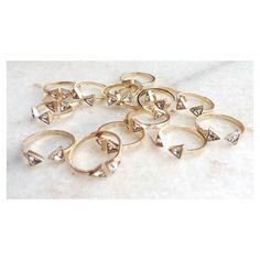 Chuva de anel! [Compras via direct] #Copella #swarovski #anel #acessorios
