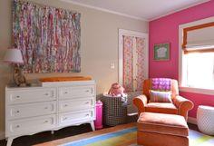Amy Gibbs Interiors Colorful Modern Nursery