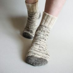 Comfy and cozy socks.