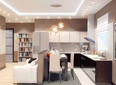 Дизайн кухни-студии 18 кв м (35 фото) своими руками, инструкция, фото, видео