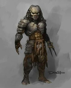 #predator #sketch by Danetellooo Alien Vs Predator, Predator Costume, Predator Cosplay, Wolf Predator, Predator Alien, Predator Tattoo, Character Art, Character Design, Alien Design