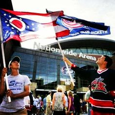 see an event at Nationwide! Columbus Blue Jackets, Hockey Games, Ohio State Buckeyes, Columbus Ohio, Staycation, Places To Go, Spaces, Heart, Sweet