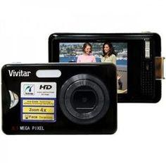 "Vivitar 8MP Dig Camera Black (V8025-BLACK-RITE) - by Sakar. $45.30. Vivitar 8.1MP HD Digital Zoom, 2.4"" Preview Screen Touch Screen Menu, Black color"