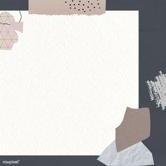Powerpoint Background Design, Background Design Vector, Background Patterns, Peach Background, Paper Background, Note Doodles, Instagram Frame, Badge Design, Paper Frames