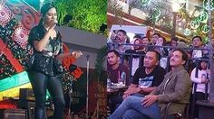 Raisa Peluk Hamish Daud Ketika Manggung, Netizen: So Sweet!