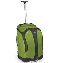 "Osprey Ozone 22"" Wheeled Travel Pack $230 -- Size: 22"" x 14"" x 9"" Weight: 4 lb. 8 oz. Capacity: 2807 cu in"