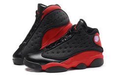 "f848fe68338 Cheap Air Jordan 13 (XIII) Retro ""Bred"" Black/Varsity Red-White. Jordan  ShoesJordan ..."