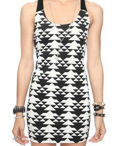 Southwest Bodycon Dress | FOREVER21 - 2000045466