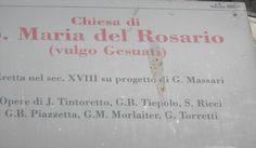 Chiesa di Maria del Rosario, Zattere
