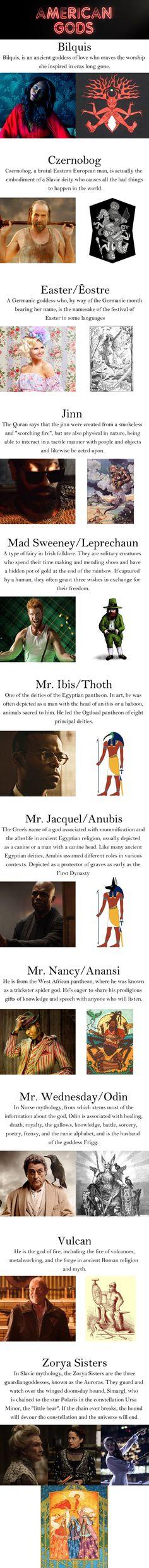 American Gods Old Gods (Spoilers)