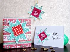 I've been experimenting with creating Christmas cards using scrap fabric, and one of the methods I tried yielded something different altogether to use for Christmas – star fabric gift tags! A quick and simple way to add a handmade touch to your presents this year. You could even use them as decorations or ornaments if …