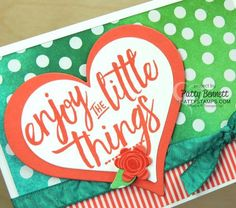 I was really tickled with the color combos I shared with you here, featuring the 5 new 2016-2018 Stampin' UP! In Colors paired up with other Stampin' UP! Colors. I decided that those pretty sponged