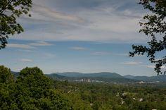 Those Asheville Mountains :-)