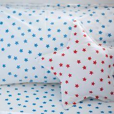 Star printed cushion