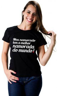 Camiseta Meu namorado - Camisetas Personalizadas,Engraçadas | Camisetas Era Digital