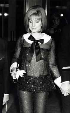 Barbra Streisand at the Academy Awards, 1967.