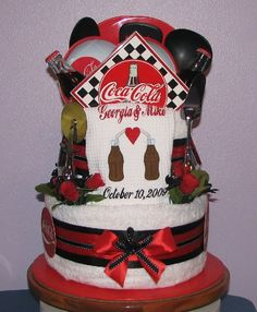 JPG   Coca Cola Kitchen Towel Cake