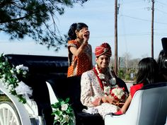 Classic Carriage Company Indian Wedding