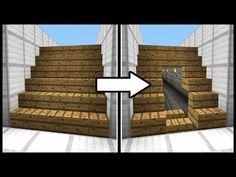 Hidden Staircase Doorway! - Minecraft Tutorial - YouTube