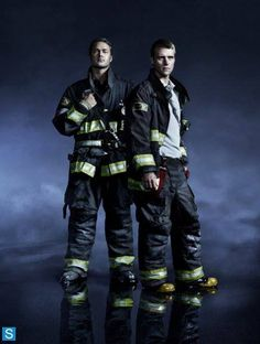 Chicaga Fire: Severide & Casey suited up | Shared by LION
