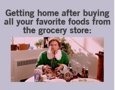 This is why I don't like going grocery shopping when I'm hungry, LOL!
