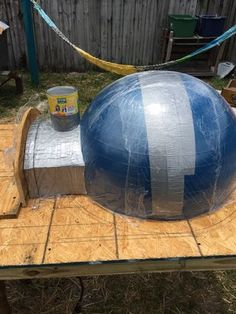 Picture of Top Dome Mold Build Build A Pizza Oven, Diy Pizza Oven, Pizza Oven Outdoor, Pizza Ovens, Wood Fired Oven, Wood Fired Pizza, Wood Oven, Pizza Oven Fireplace, Fire Pit Pizza
