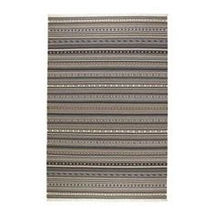 """IKEA - KATTRUP, Rug, flatwoven, 6 ' 7 """"x9 ' 10 """", , Handwoven by skilled craftspeople, each one is unique. Made in India in organized weaving centers with good working conditions and fair wages.The durable, dirt-resistant wool surface makes this rug a suitable choice for your dining or living room.The rug has the same pattern on both sides, so you can turn it over and it will withstand more wear and last even longer.Easy to vacuum thanks to its flat surface."""