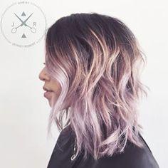 asian lavender hair - Google Search
