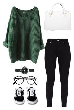"""#246"" by mintgreenb on Polyvore featuring Ted Baker, Movado and Michael Kors"