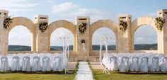 San Antonio Wedding Venues | El Fortin Lawn | The Westin La Cantera Hill Country Resort