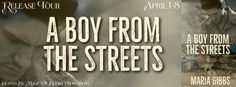 A BOY FROM THE STREETS by Maria Gibbs Release Tour  Genre: Urban Drama  Two babies abandoned at birthone grows up in a life of privilege the other in poverty.  On the 12th of September 1981 twin boys are born in a Brasilian hospital and left to their fate as orphans. Jose is adopted by a couple who takes him to England but the other isnt so lucky. Pedro ends up on the streets of Rio left to fend for himself in a harsh and unforgiving world.  Love and betrayal.  Twelve years later Joses…