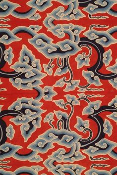 1stdibs | Cirebon Batik - Traditional cloud pattern (Central Java, Indonesia)