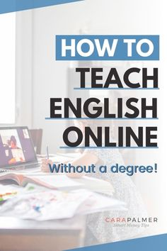 Find out how to teach English online and make money WORKING FROM HOME. 11 companies hiring new English teachers without a degree or teaching background! - work online, teach English online, English teacher, make money working at home, stay at home, SAHM job, earn extra income English Teaching Resources, Teaching English Online, English Teachers, Work From Home Moms, Make Money From Home, Make Money Online, How To Make Money, Online Jobs From Home, Online Work
