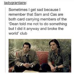Dean knows best