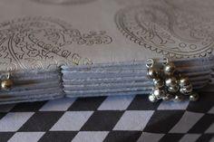 Zenza notebook PAISLEY WHITE