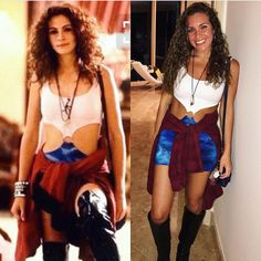 "Ready to ship! Pretty Woman ""Vivian"" Dress Julia Roberts Costume Metal Oring Blue Tie Dye and White Costume Party Girl costumes Ready to ship! Pretty Woman ""Vivian"" Dress Julia Roberts Costume Metal Oring Blue Tie Dye and White Costume Party Girl Pretty Woman Halloween Costume, 80s Halloween Costumes, Costumes For Sale, Halloween Kostüm, Halloween Outfits, Halloween Costumes For Brunettes, Halloween Costume Women, Indian Halloween Custome, Fancy Dress Costumes For Women"