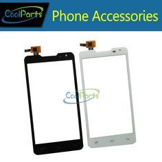 Noir et Blanc Couleur Tactile Écran Digitizer Pour Prestigio MultiPhone 5044 Duo PAP 5044 PAP5044 1 PC/Lot
