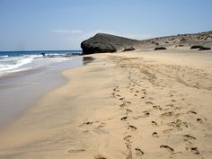 Lanzarote, ... la isla de los volcanes: Playa Blanca
