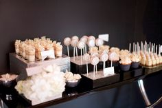 Cakes - Have a dessert buffet. Mini pastries and other tiny sweets are crowd-pleasers. Save money by having only a small cake for your cake cutting.