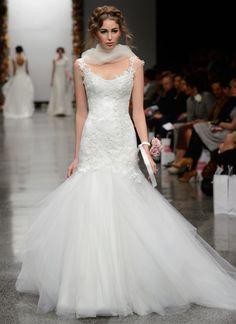 Beautiful Wedding Dress by Anna Schimmel