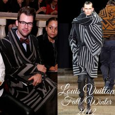 The Derek's Blog: Brad Goreski en Louis Vuitton – Tory Burch Fashion Show in New York Fashion Week