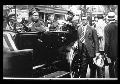Collar City Brownstone: James Van Der Zee - Harlem Renaissance Photographer  Marcus Garvey: YEA MON