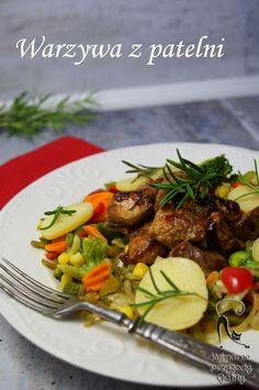 Kulinarne przygody Gatity: Szybki obiad, czyli warzywa na patelni