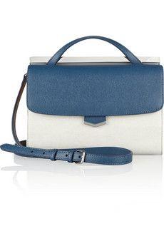 Prada Toro leather flap shoulder bag