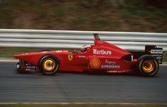 Michael Schumacher, Ferrari F310 Shark Nose, late 96
