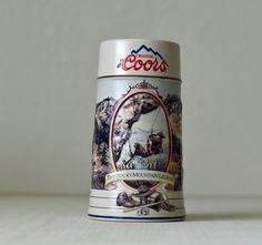 Vintage , Coors Beer Stein, The Rocky Mountain Legend Series,1994,Beer Mug…