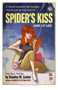 Pulp Comic Books By Tony Fleecs (via... | Myles Braithwaite