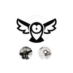Follow us @logoinspirations Owl Concept by @logo_phil - http://ift.tt/2geIf0d - LEARN LOGO DESIGN @learnlogodesign @learnlogodesign