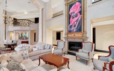 This incredible mega mansion is located in Sandhurst, Sandton, Gauteng, Johannesburg, South Africa. Mega Mansions, Rich Home, Great Rooms, South Africa, Gallery Wall, The Incredibles, Homes, Furniture, Home Decor