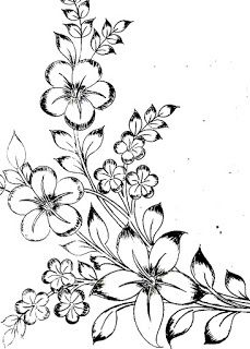 Flower Design Images Drawing Simple Flower Design S To Draw Flower